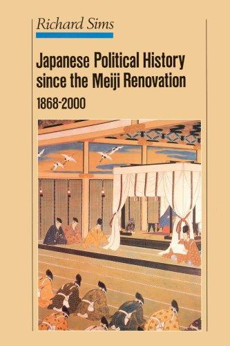 a history of the japanese political