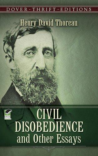the essay civil disobedience Civil disobedience when should civil disobedience be justified civil disobedience is defined as the refusal to obey government laws in his essay, civil disobedience thoreau wrote in 1849 after spending a night in the walden town jail for refusing to pay a poll tax that supported the mexican war.