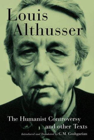 louis althusser essay Althusser, ideology and interpellation the french philosopher, louis althusser in the essay, althusser explores the relationship between the state.